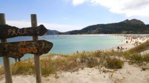 Playa de Rodas, en Cíes